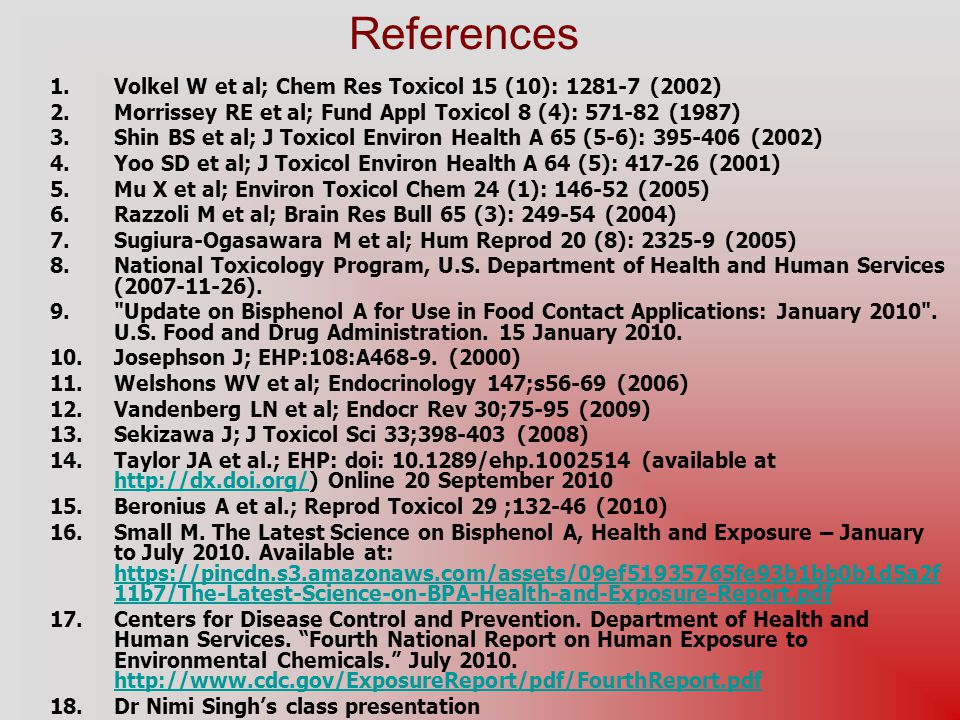 References Volkel W et al; Chem Res Toxicol 15 (10): 1281-7 (2002)