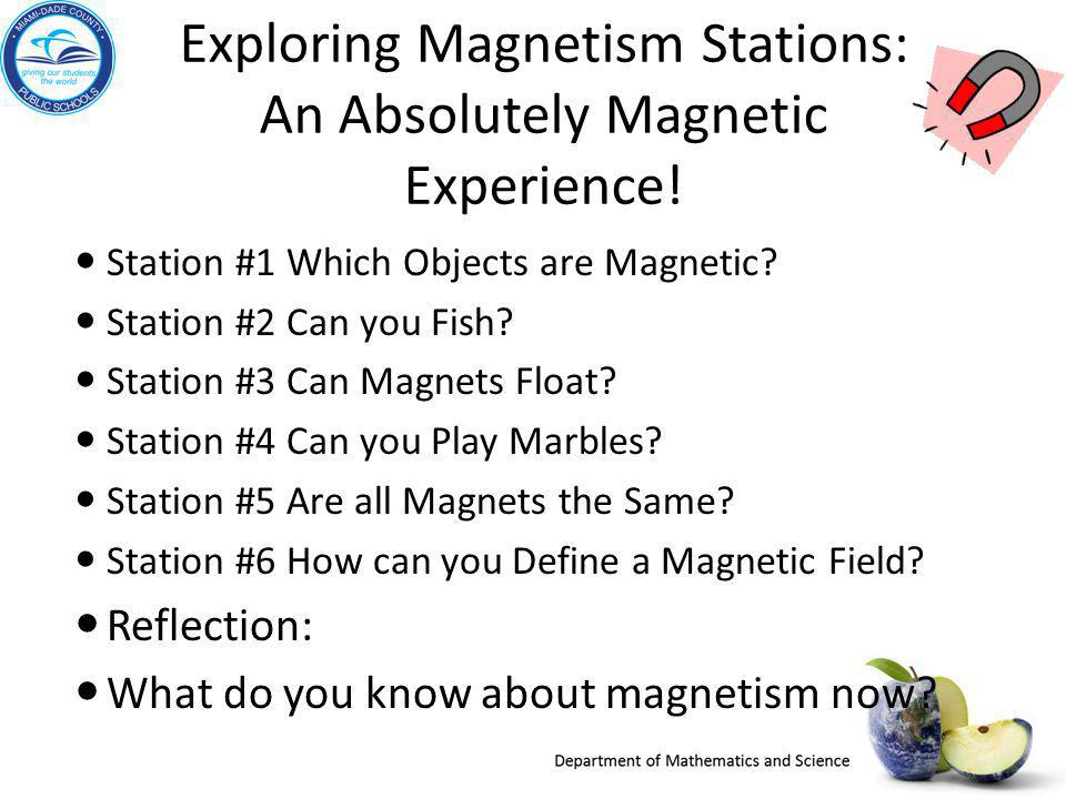 Exploring Magnetism Stations: An Absolutely Magnetic Experience!