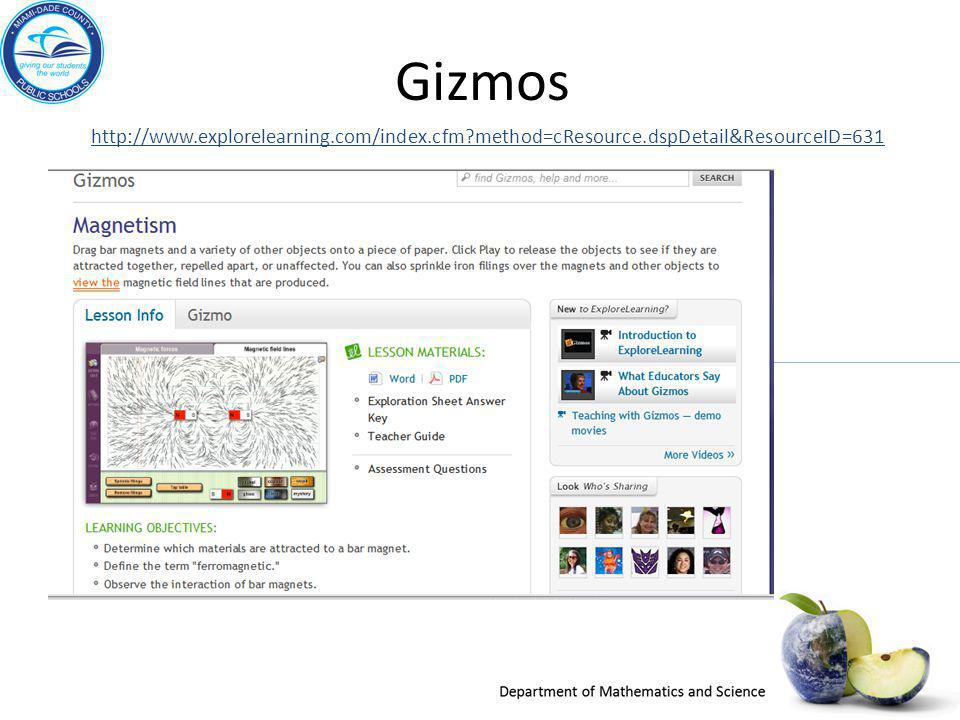 Gizmos http://www.explorelearning.com/index.cfm method=cResource.dspDetail&ResourceID=631