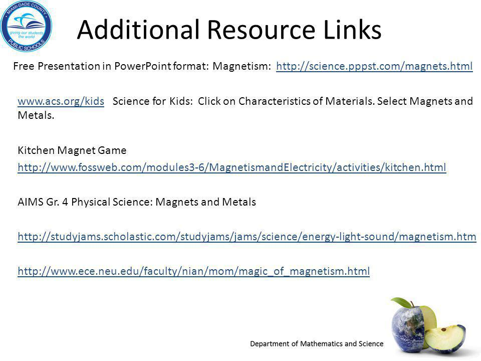 Additional Resource Links
