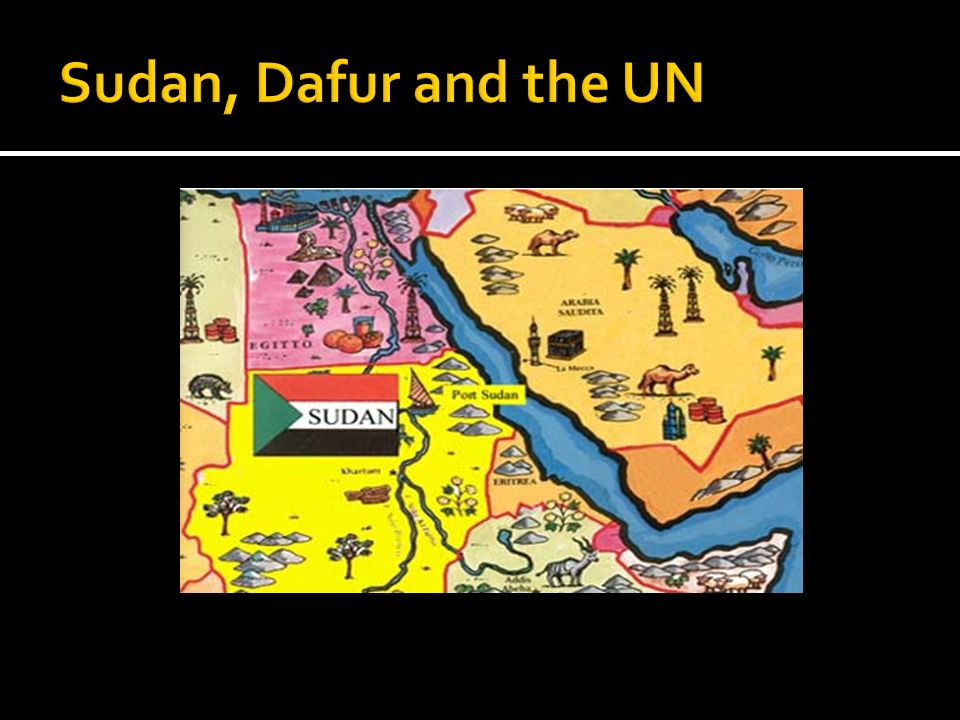 Sudan, Dafur and the UN