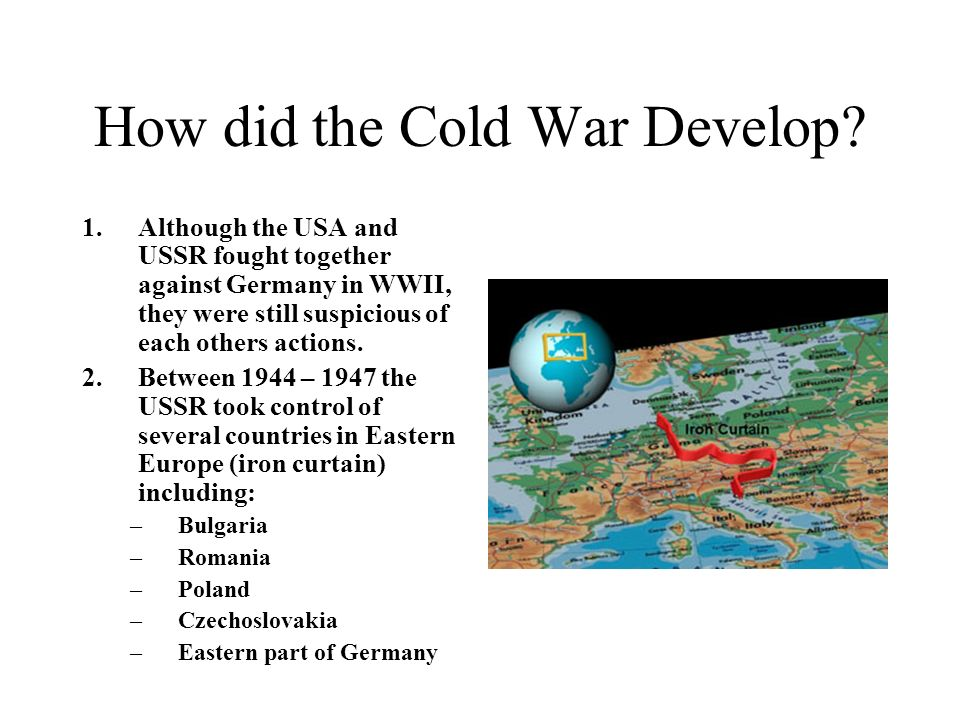 How did the Cold War Develop