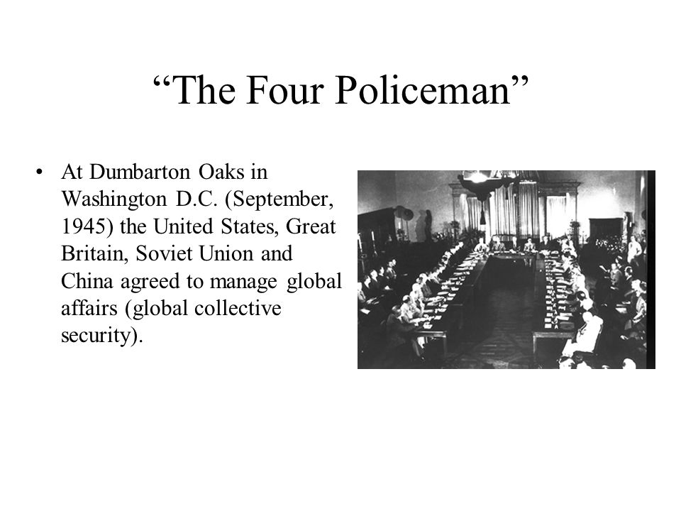 The Four Policeman