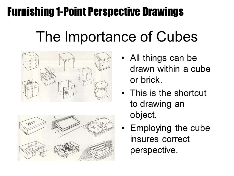 The Importance of Cubes