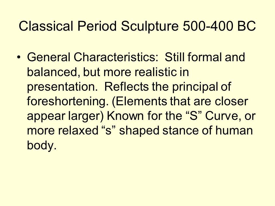 Classical Period Sculpture 500-400 BC