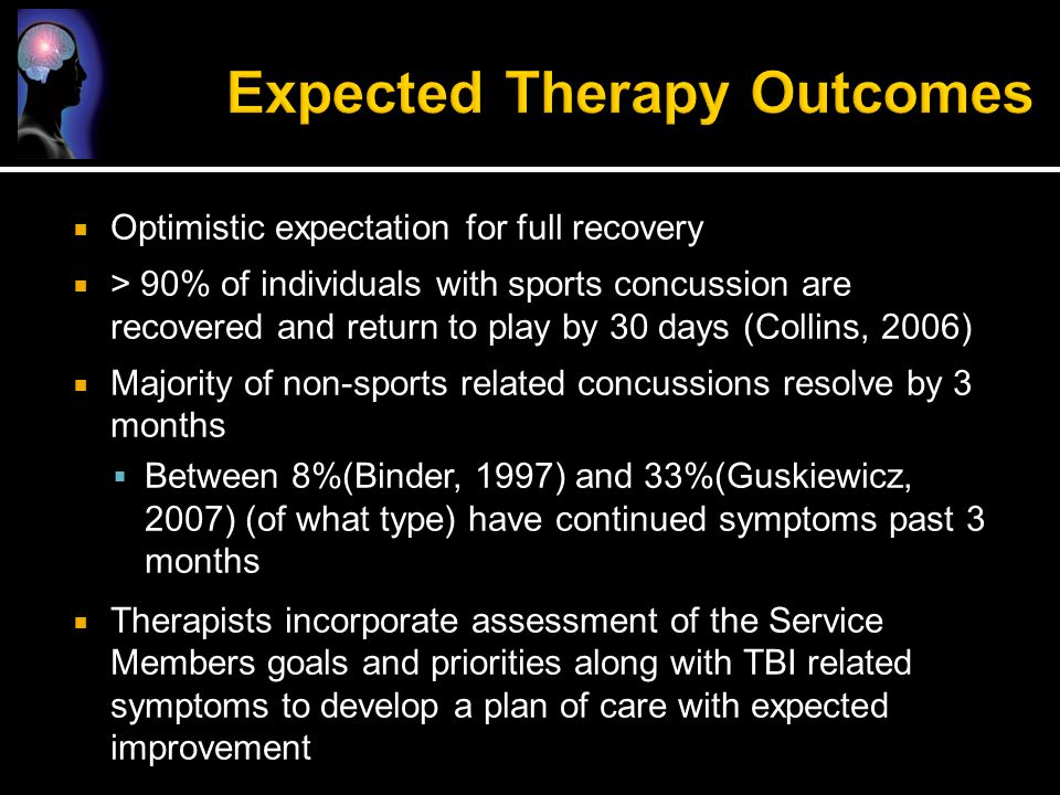 Expected Therapy Outcomes