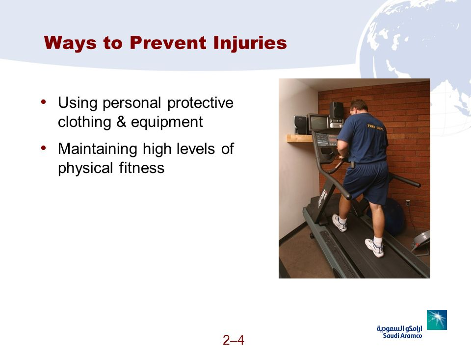 Ways to Prevent Injuries