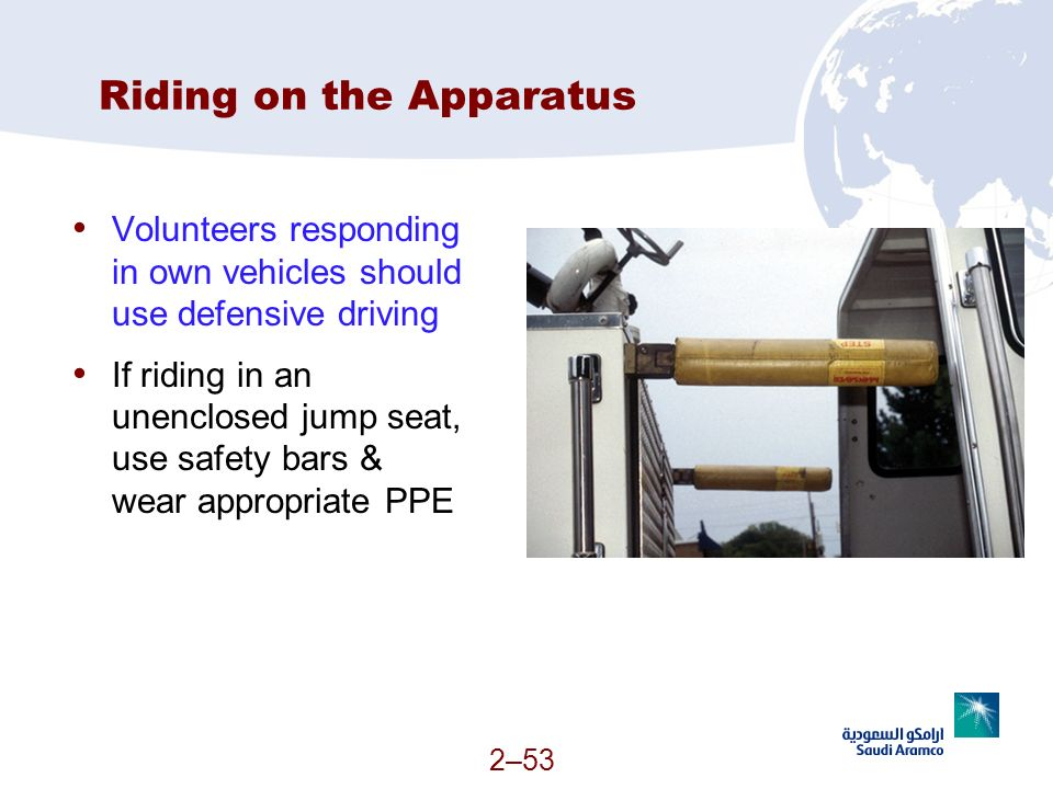 Riding on the Apparatus