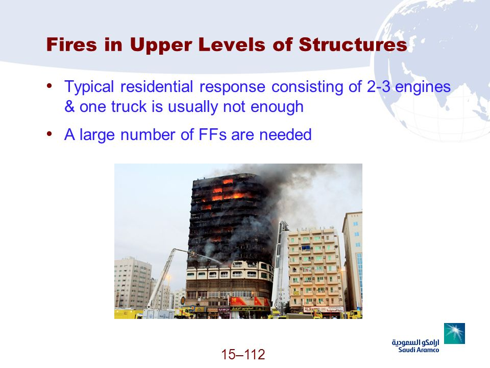 Fires in Upper Levels of Structures