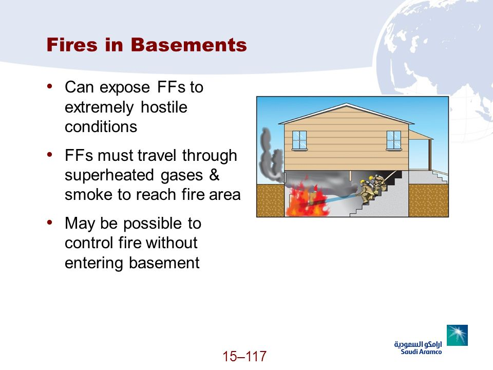 Fires in Basements Can expose FFs to extremely hostile conditions