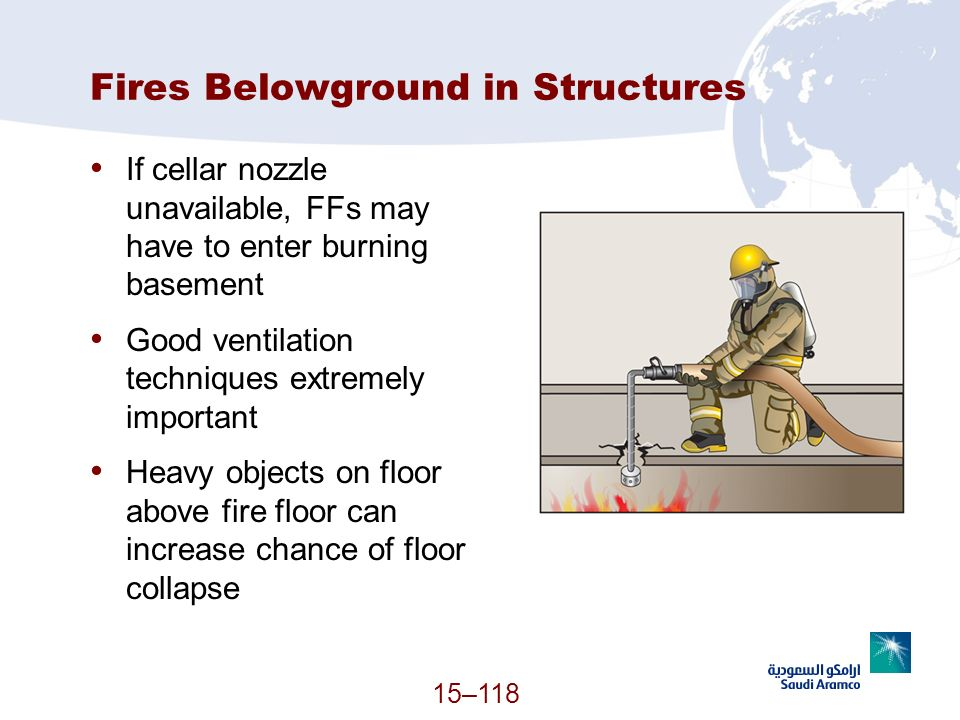 Fires Belowground in Structures