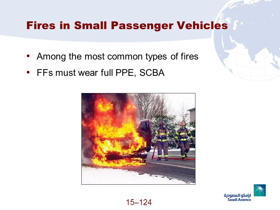 Fires in Small Passenger Vehicles