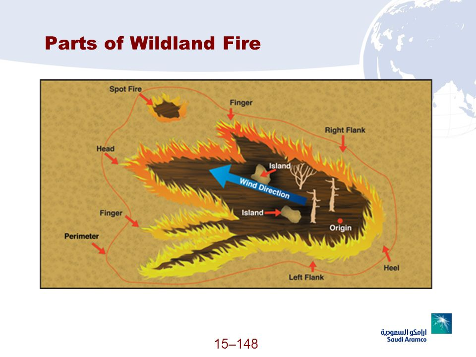 Parts of Wildland Fire (Continued)
