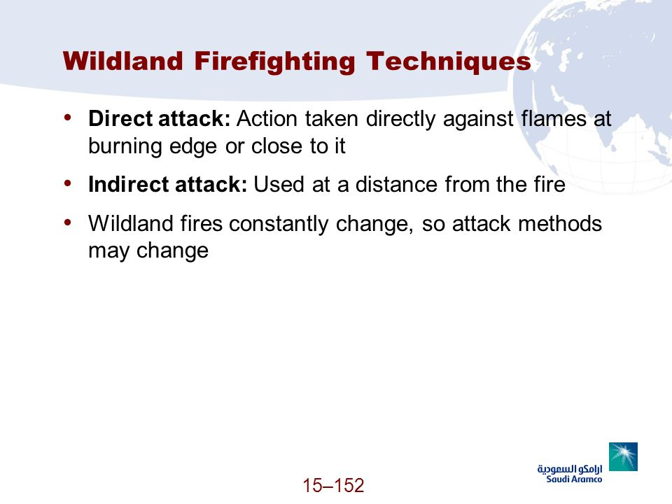 Wildland Firefighting Techniques
