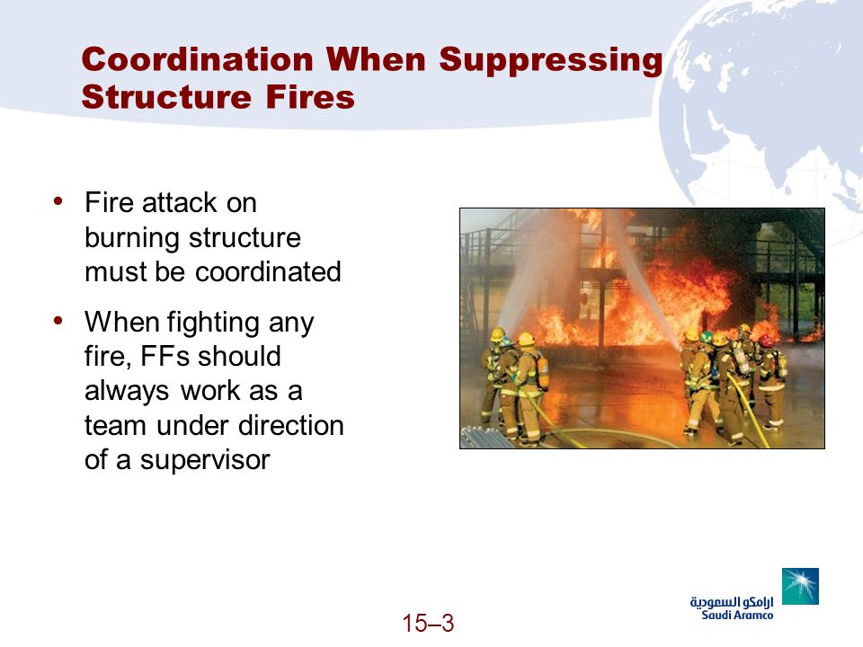 Coordination When Suppressing Structure Fires