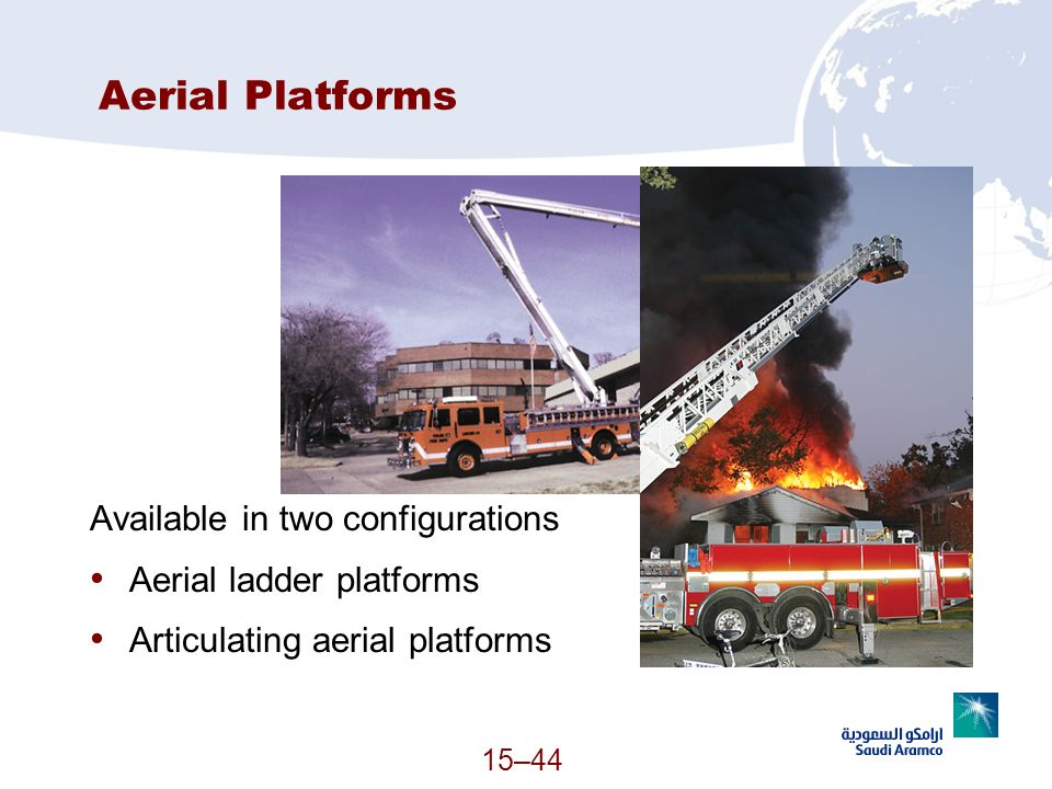 Aerial Platforms Available in two configurations
