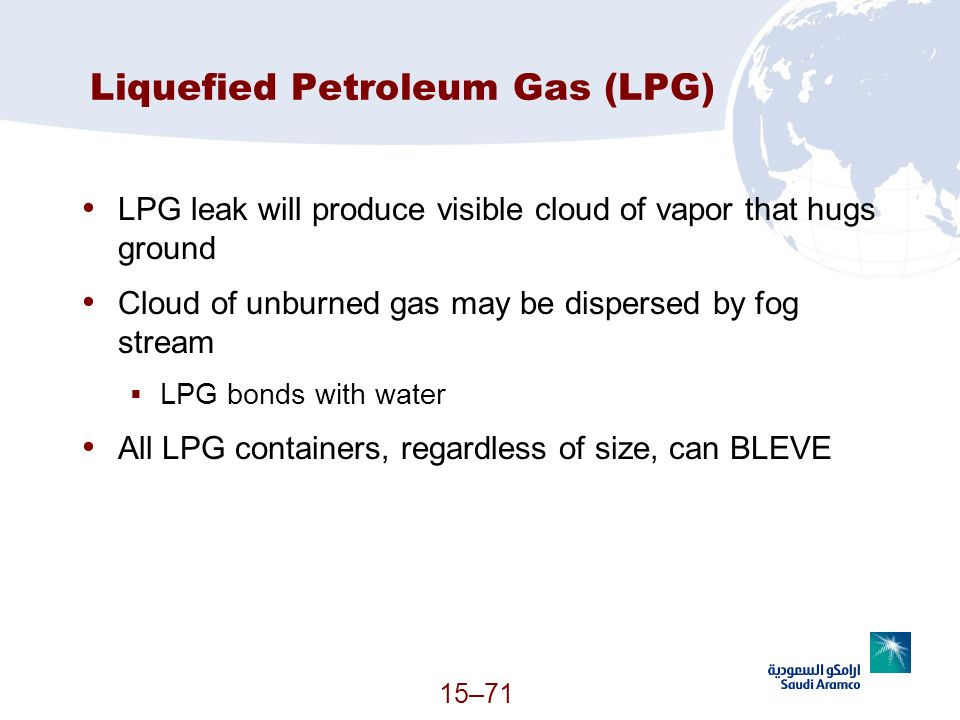 Liquefied Petroleum Gas (LPG)