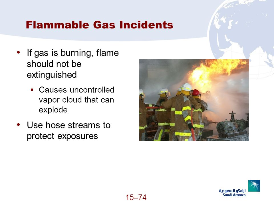 Flammable Gas Incidents