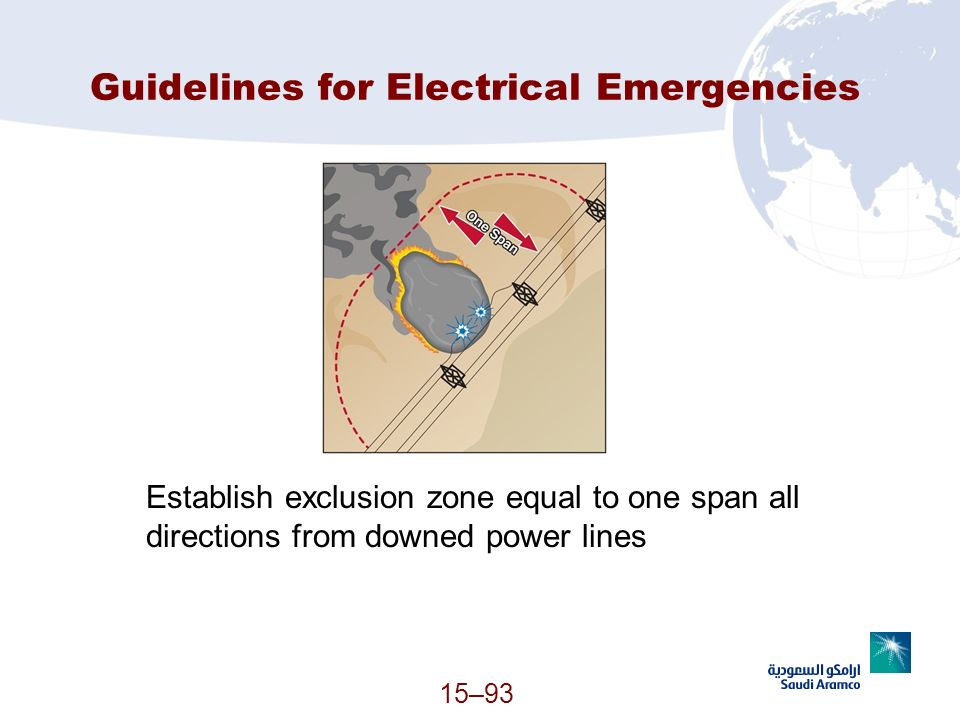 Guidelines for Electrical Emergencies