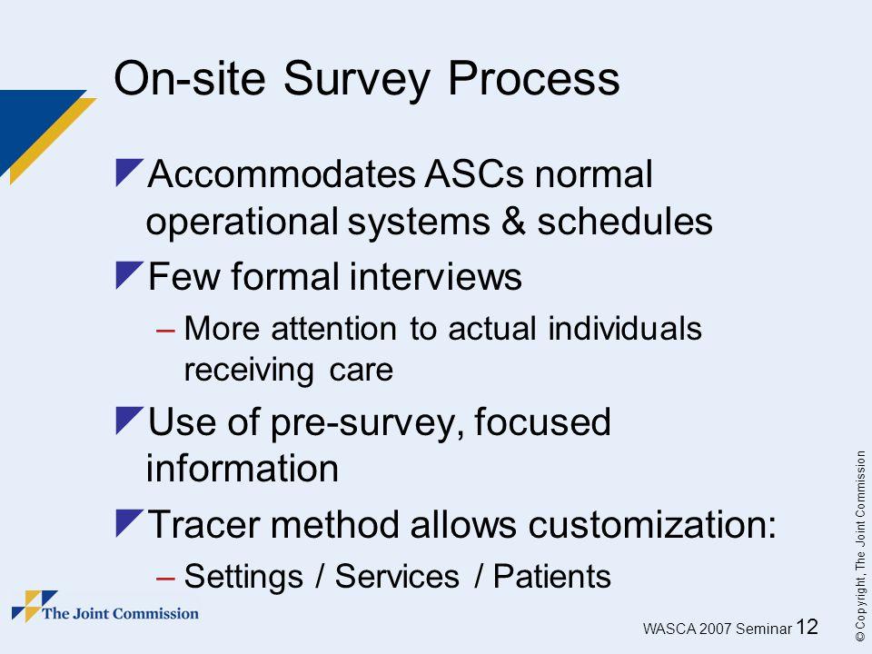 On-site Survey Process