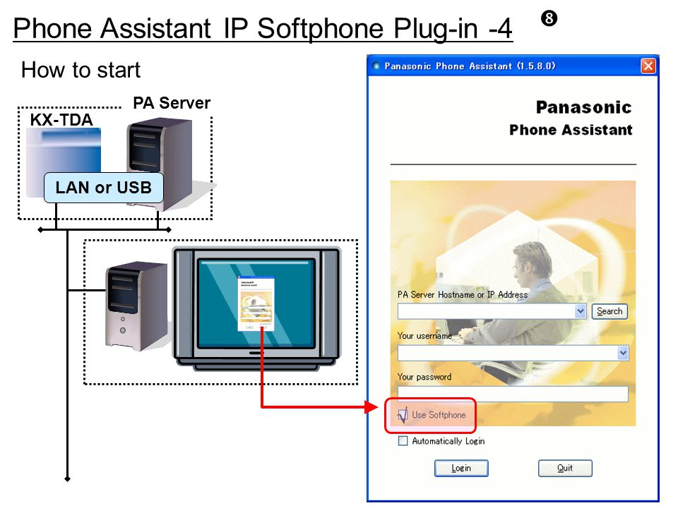 Phone Assistant IP Softphone Plug-in -4