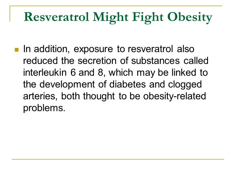 Resveratrol Might Fight Obesity