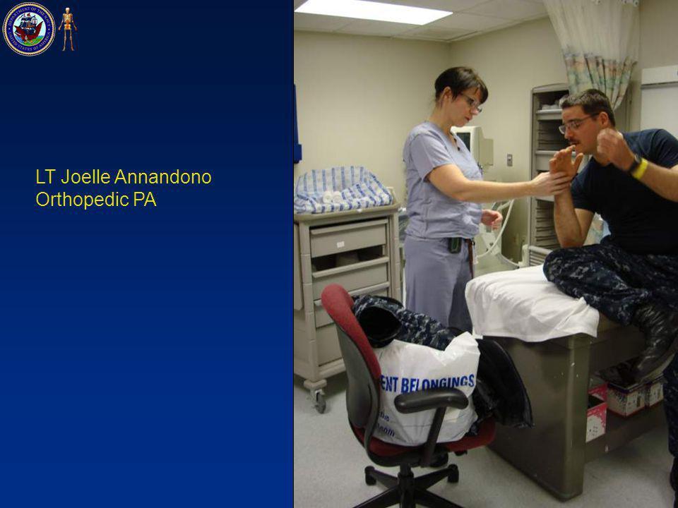 LT Joelle Annandono Orthopedic PA