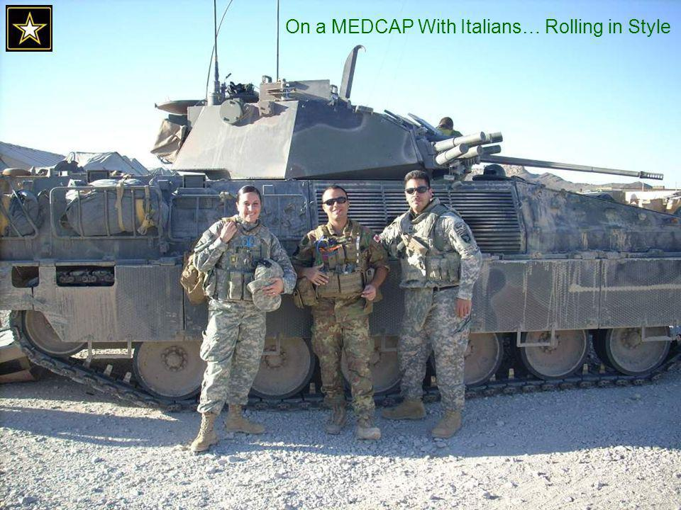 On a MEDCAP With Italians… Rolling in Style