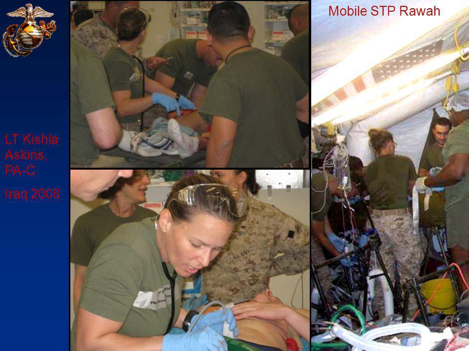 Mobile STP Rawah LT Kishla Askins, PA-C Iraq 2008