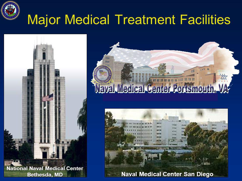 Major Medical Treatment Facilities