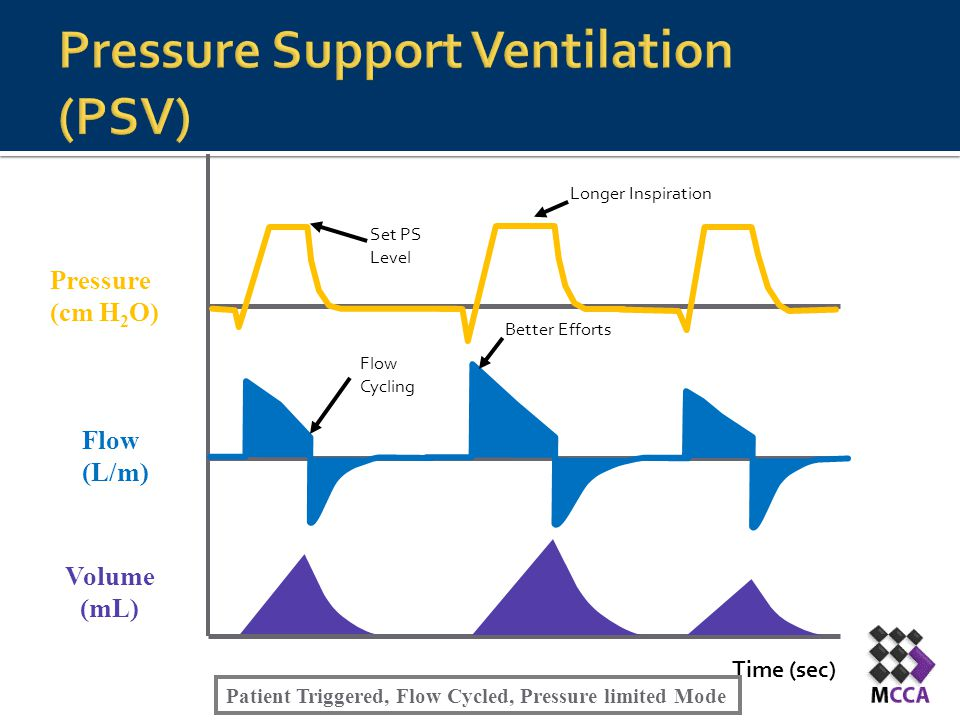Pressure Support Ventilation (PSV)