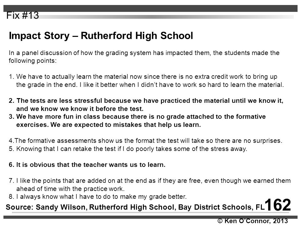 162 Fix #13 Impact Story – Rutherford High School