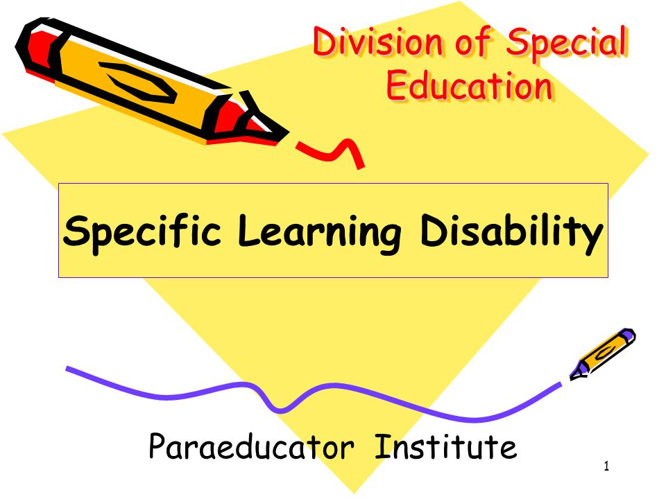 Division of Special Education