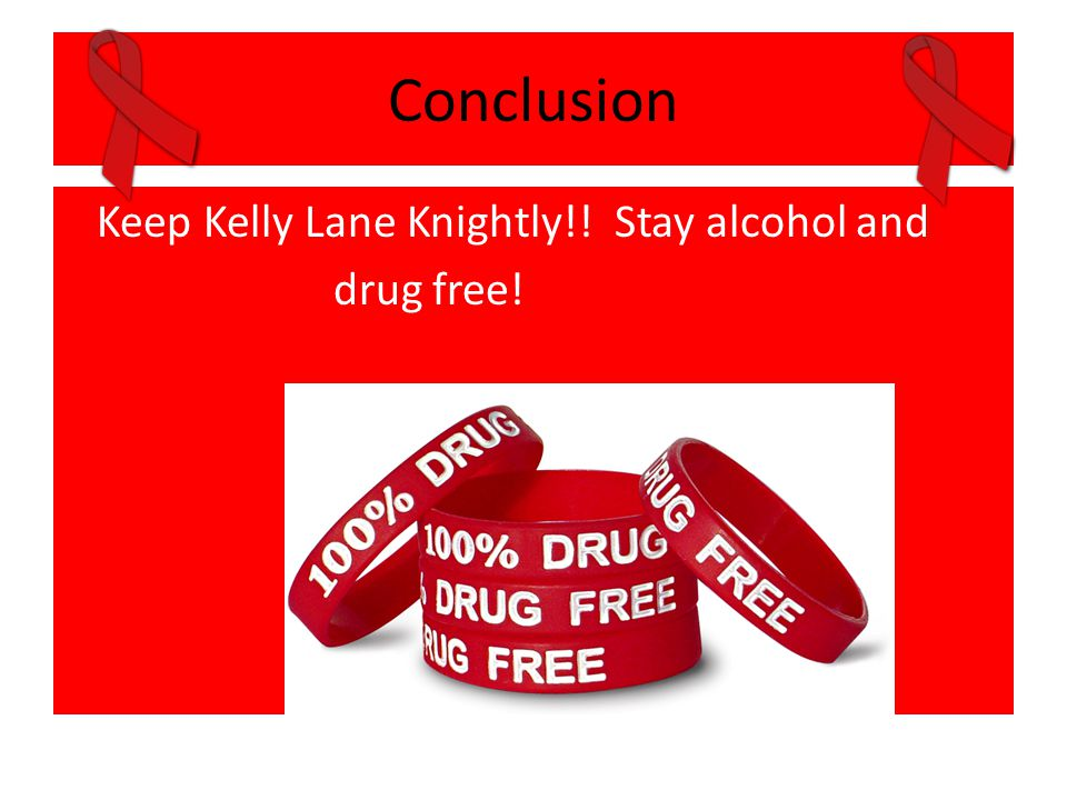Conclusion Keep Kelly Lane Knightly!! Stay alcohol and drug free!