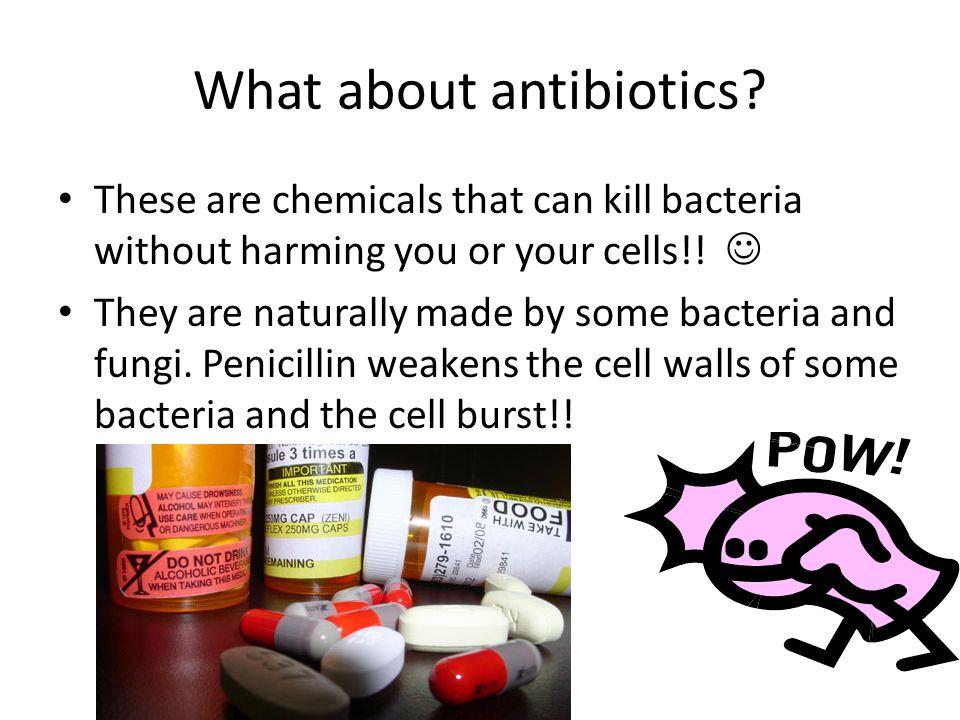 What about antibiotics
