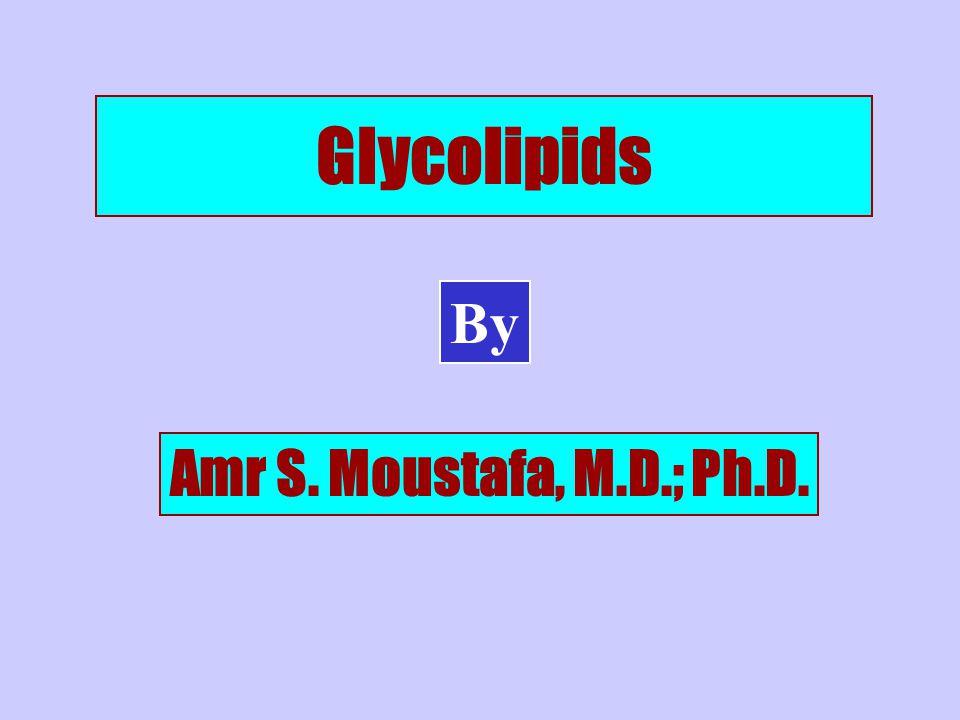 Glycolipids By Amr S. Moustafa, M.D.; Ph.D.