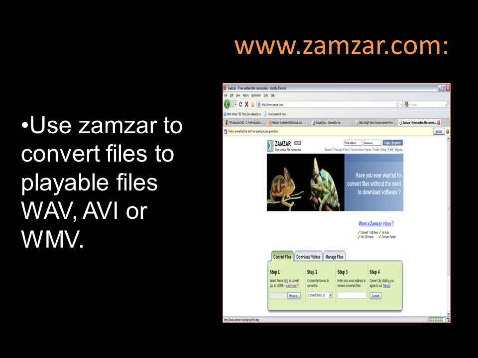Use zamzar to convert files to playable files WAV, AVI or WMV.