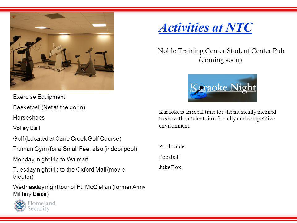 Noble Training Center Student Center Pub (coming soon)