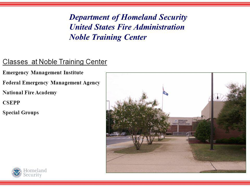 Department of Homeland Security United States Fire Administration