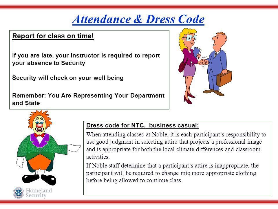 Attendance & Dress Code