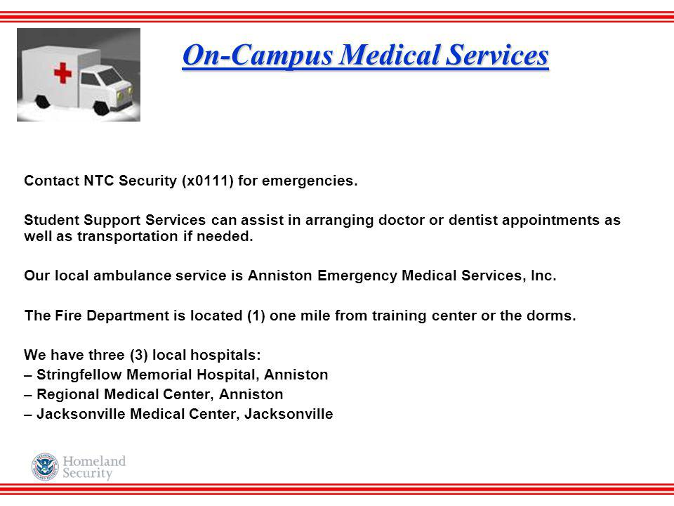 On-Campus Medical Services