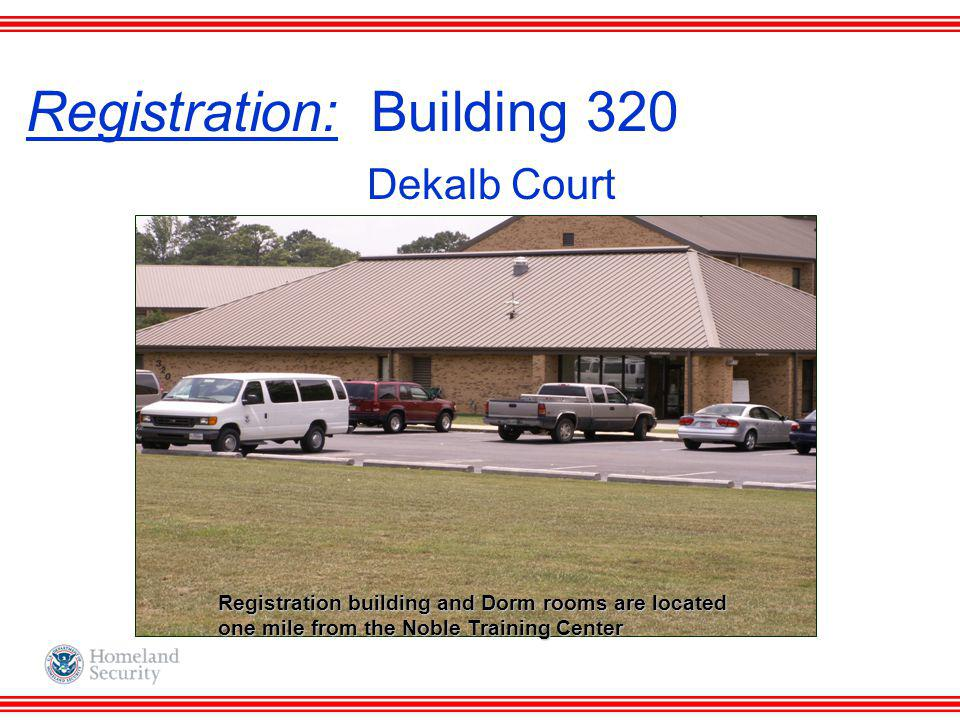 Registration: Building 320 Dekalb Court