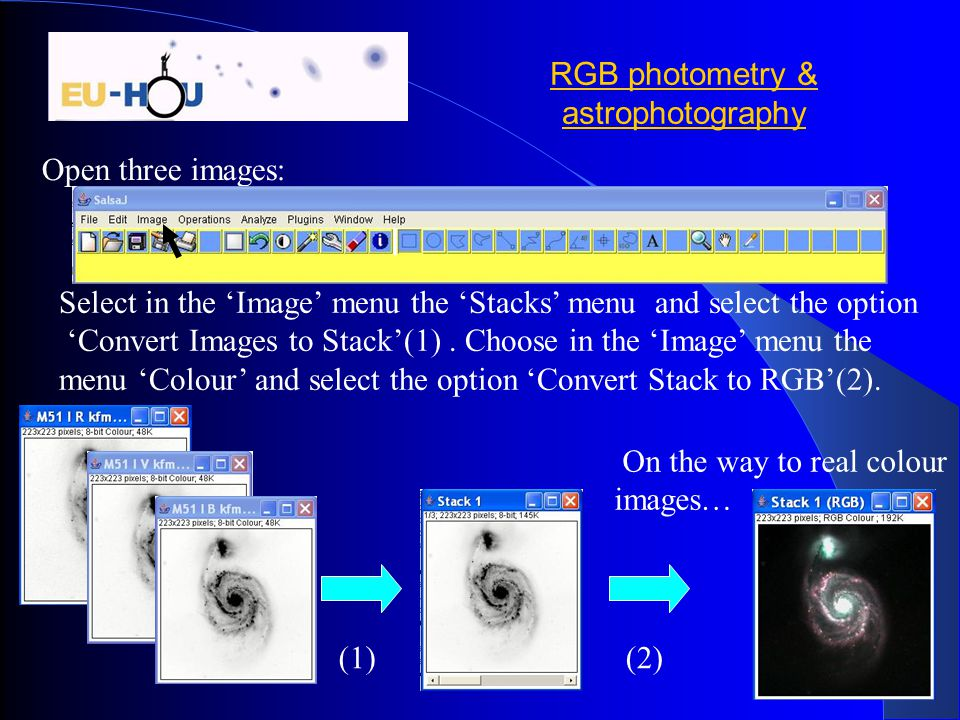 RGB photometry & astrophotography