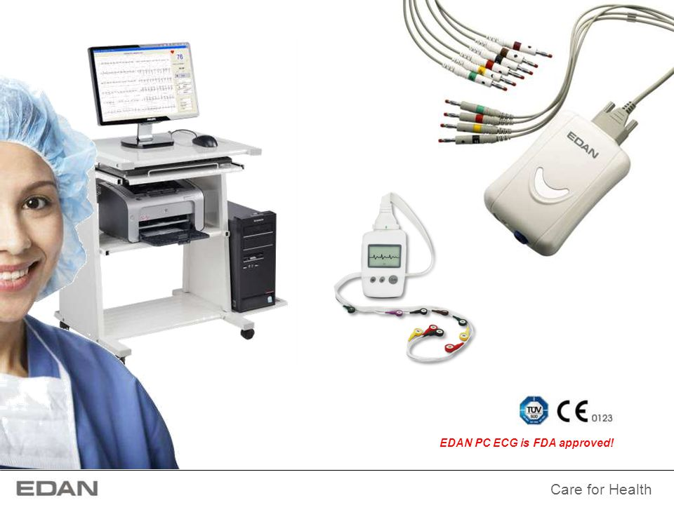 EDAN PC ECG is FDA approved!