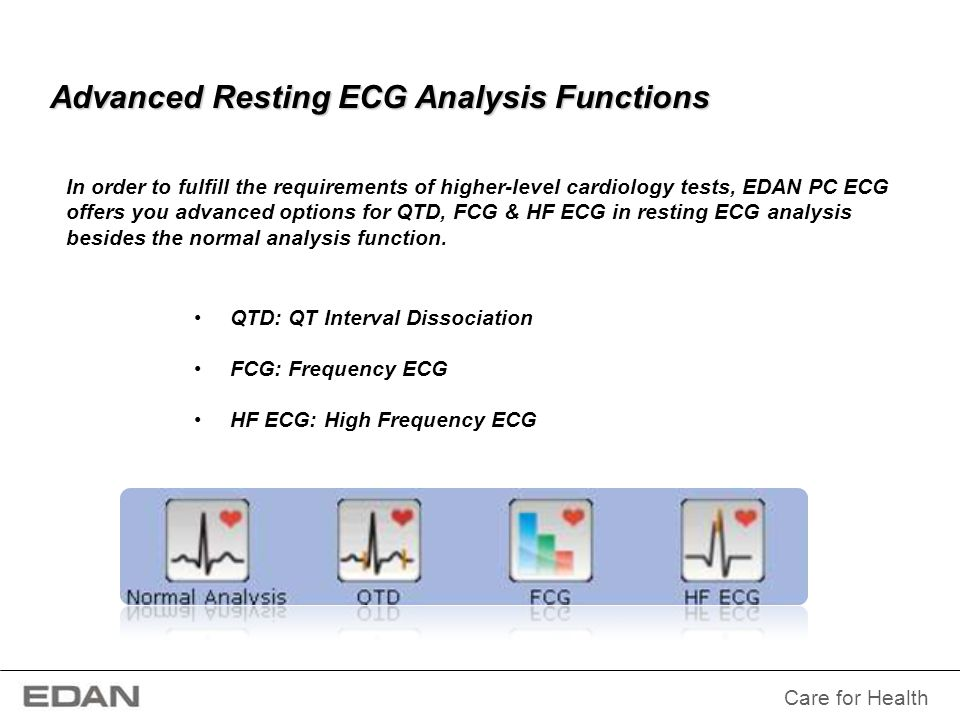 Advanced Resting ECG Analysis Functions