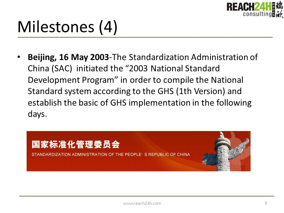 Milestones (4)