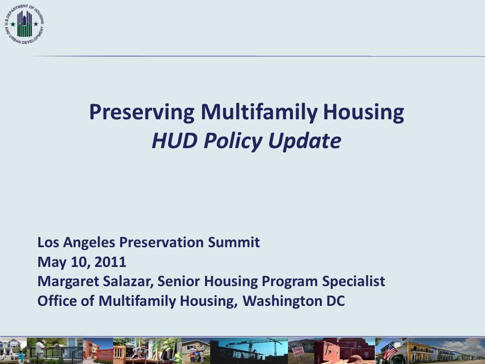Preserving Multifamily Housing