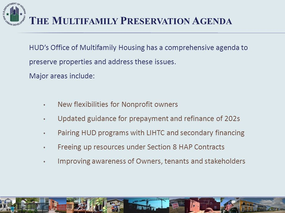 The Multifamily Preservation Agenda