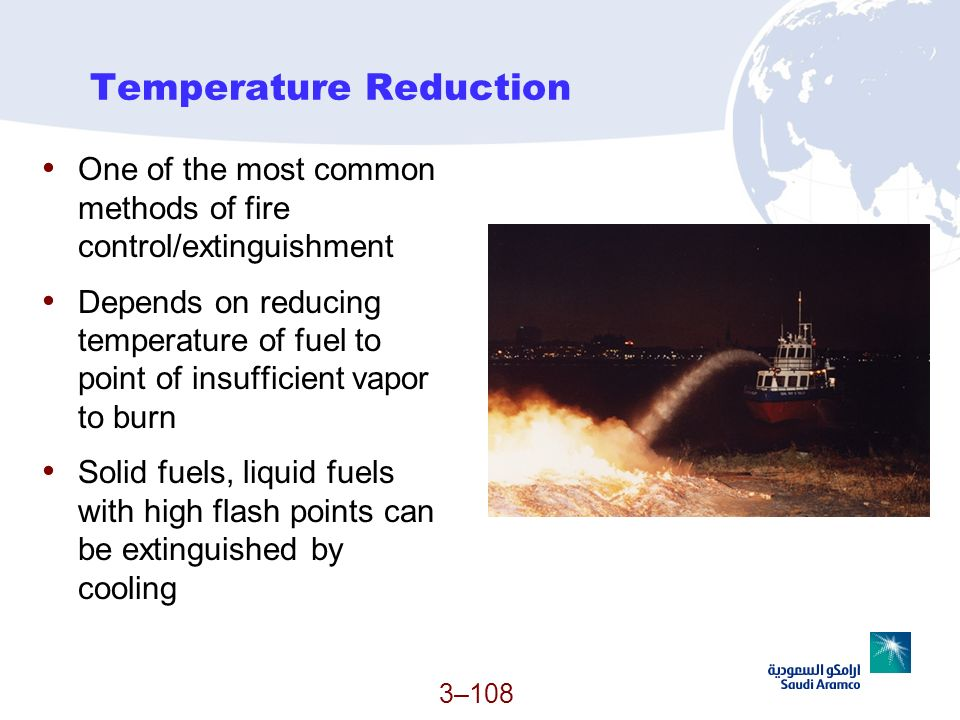 Temperature Reduction