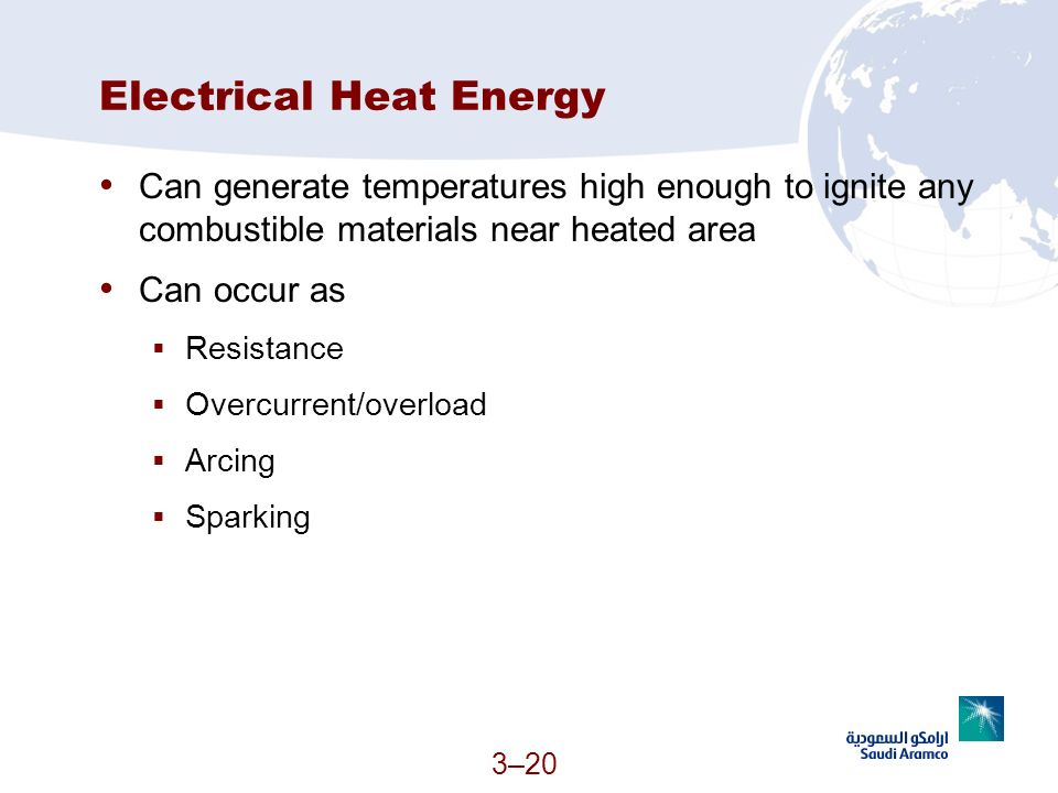 Electrical Heat Energy